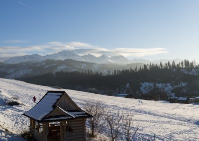 Beautiful landscape in Tatra mountains